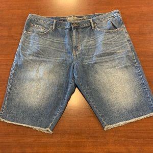 OLD NAVY Slim Fit Cutoff Jean Shorts